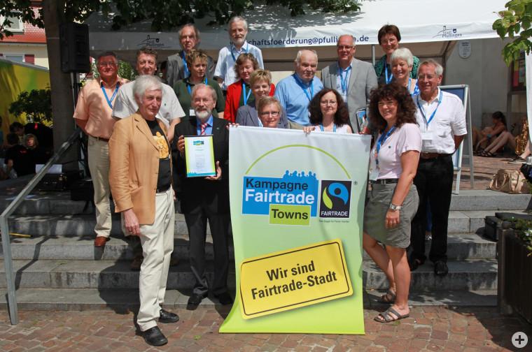 Fairtrade-Verleihung