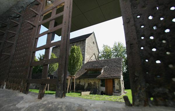 Das original erhaltene Sprechgitter des Klosters