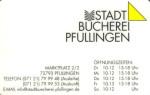 Beispielbild: Stadtbüchereiausweis