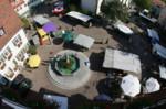 Marktplatz aus der Luft