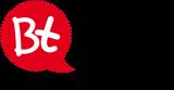 Bt-Blase rot mit Text