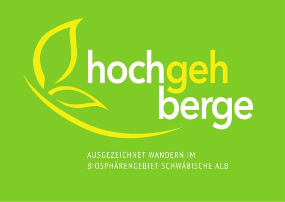 Grünes Logo für die hochgehberge