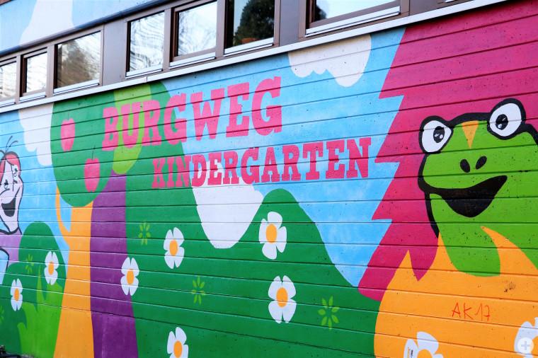 Kindergarten Burgweg - Bild: Kontrast plus