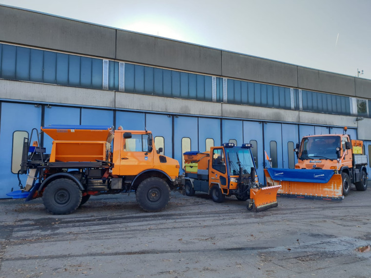 Winterdienstfahrzeuge Bauhof